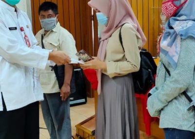 Bantuan Sekolah kepada Peserta Didik terkena dampak Wabah dan Bencana Alam