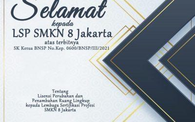 Penambahan Ruang Lingkup Bisnis Daring dan Pemasaran (BDP) – LSP SMKN 8 Jakarta
