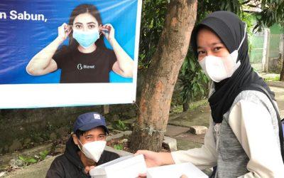 SMKN 8 Jakarta – Berbagi Takjil di Ramadhan 1442H
