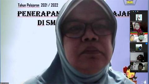MOPDB Tahun 2021 - Sambutan Plt. Kepsek SMKN 8 Jakarta - Ibu Siti Habibah, M.Pd
