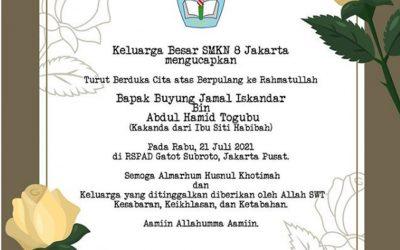 Berita Duka Cita Tuk Bapak Buyung Jamal Iskandar – Kaknda dari Ibu Siti Habibah