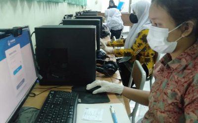 Gladi Bersih Asesmen Nasional Berbasis Komputer (ANBK) SMKN 8 Jakarta Tahun 2021